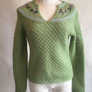 Paul & Joe S VTG 90s RARE Wool Pullover Jumper